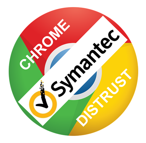 Chrome distrust of Symantec